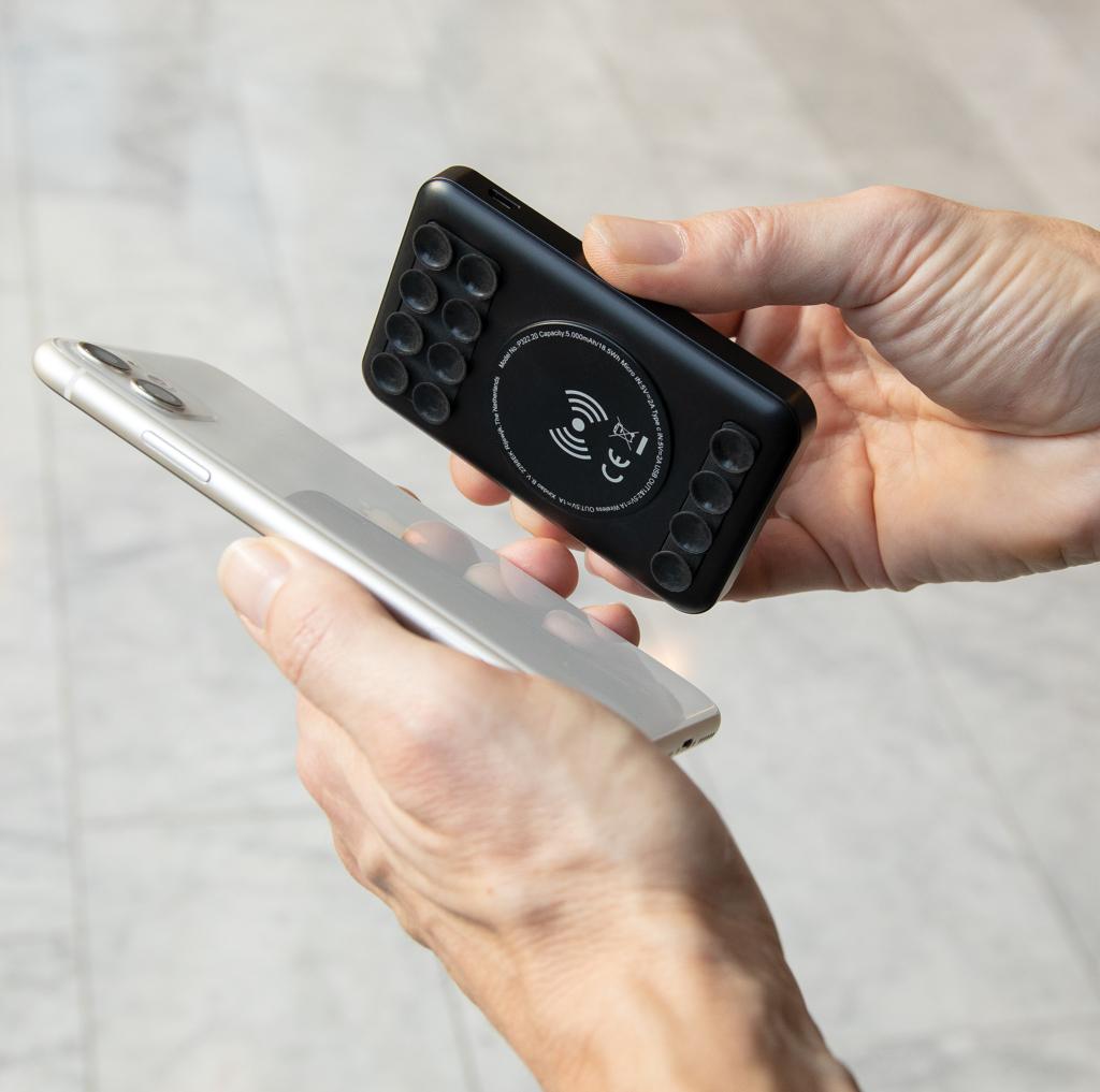 5.000 mAh Wireless Charging Pocket Powerbank