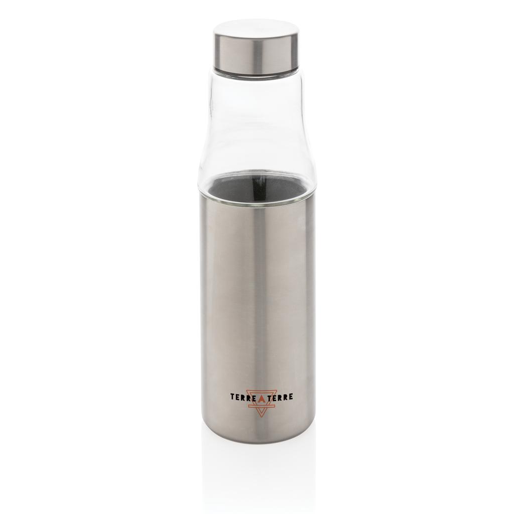Hybrid auslaufsichere Glas und Vakuum-Flasche