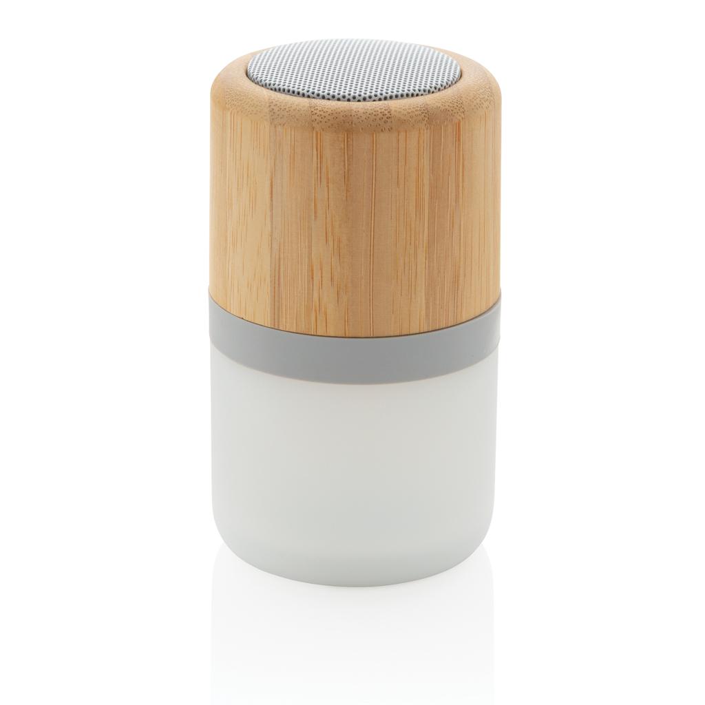 3W farbwechselnder Lautsprecher aus Bambus