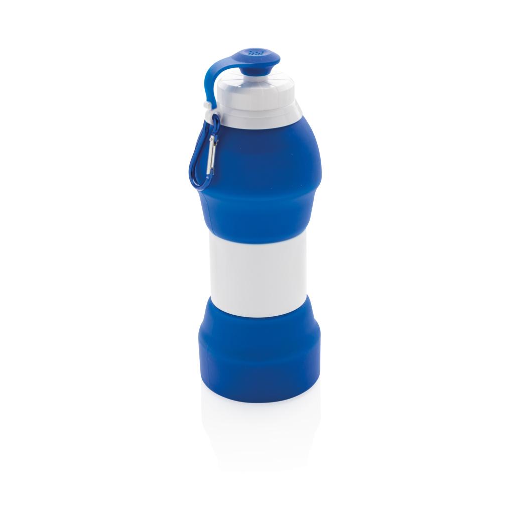 Faltbare Silikon-Sportflasche