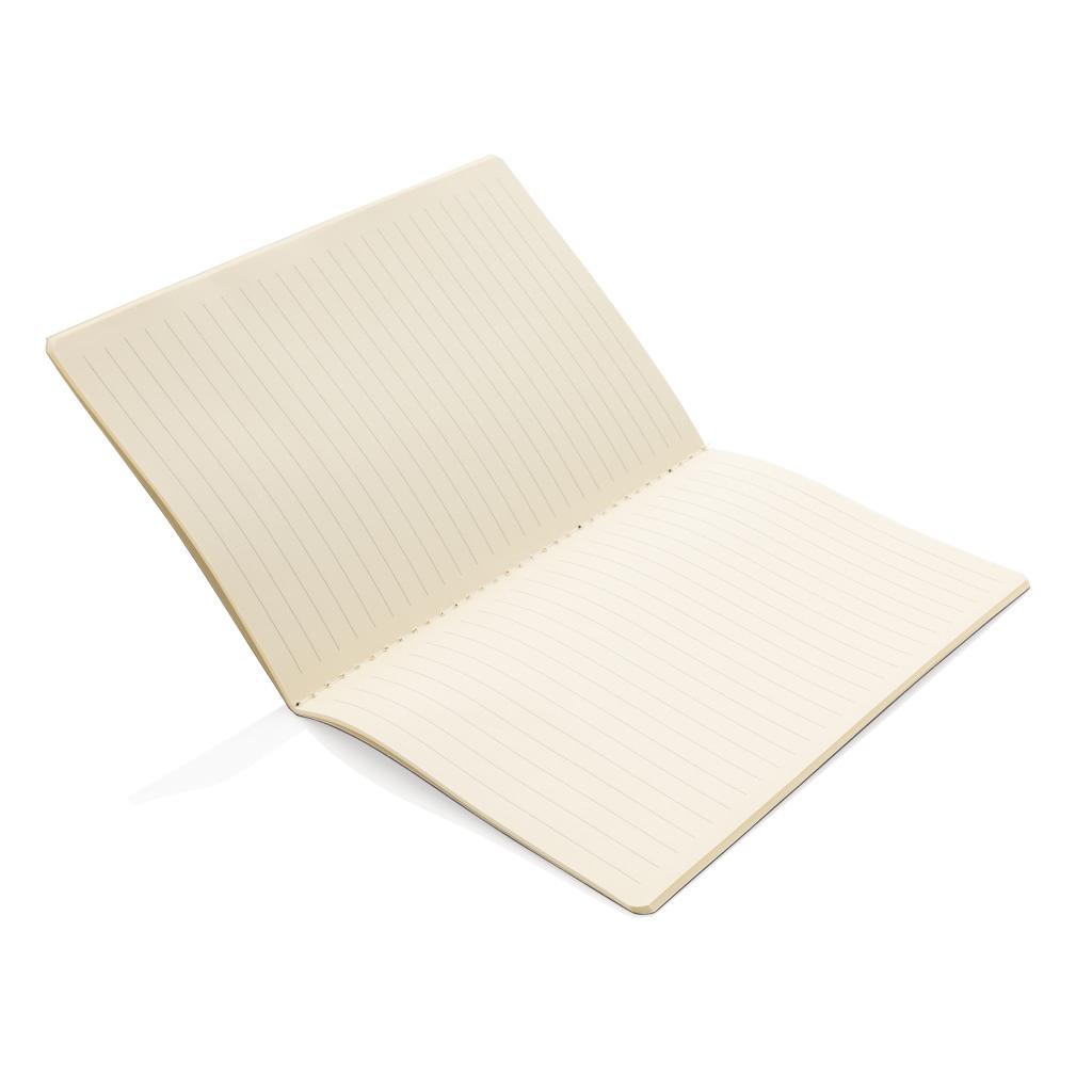 Softcover PU Notizbuch mit farbigem Beschnitt