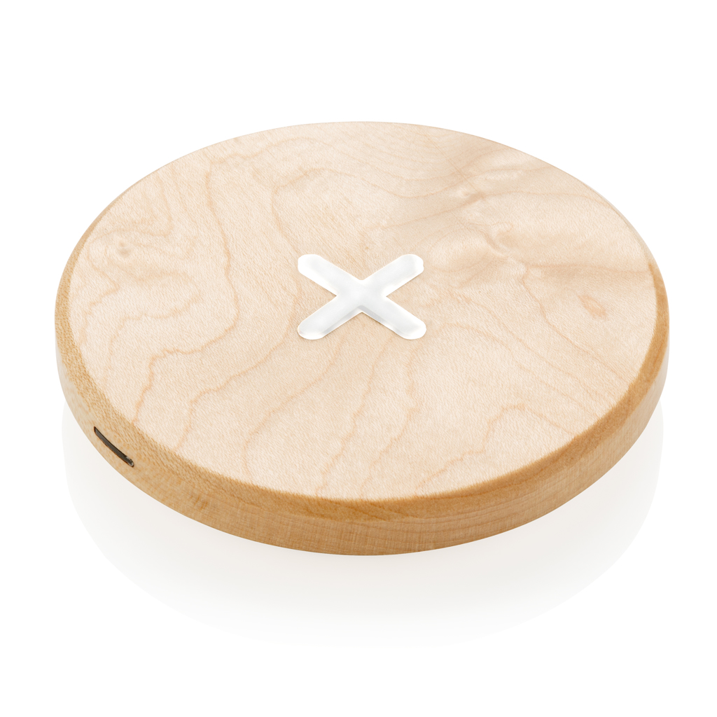 5W Wirless-Charger aus Holz