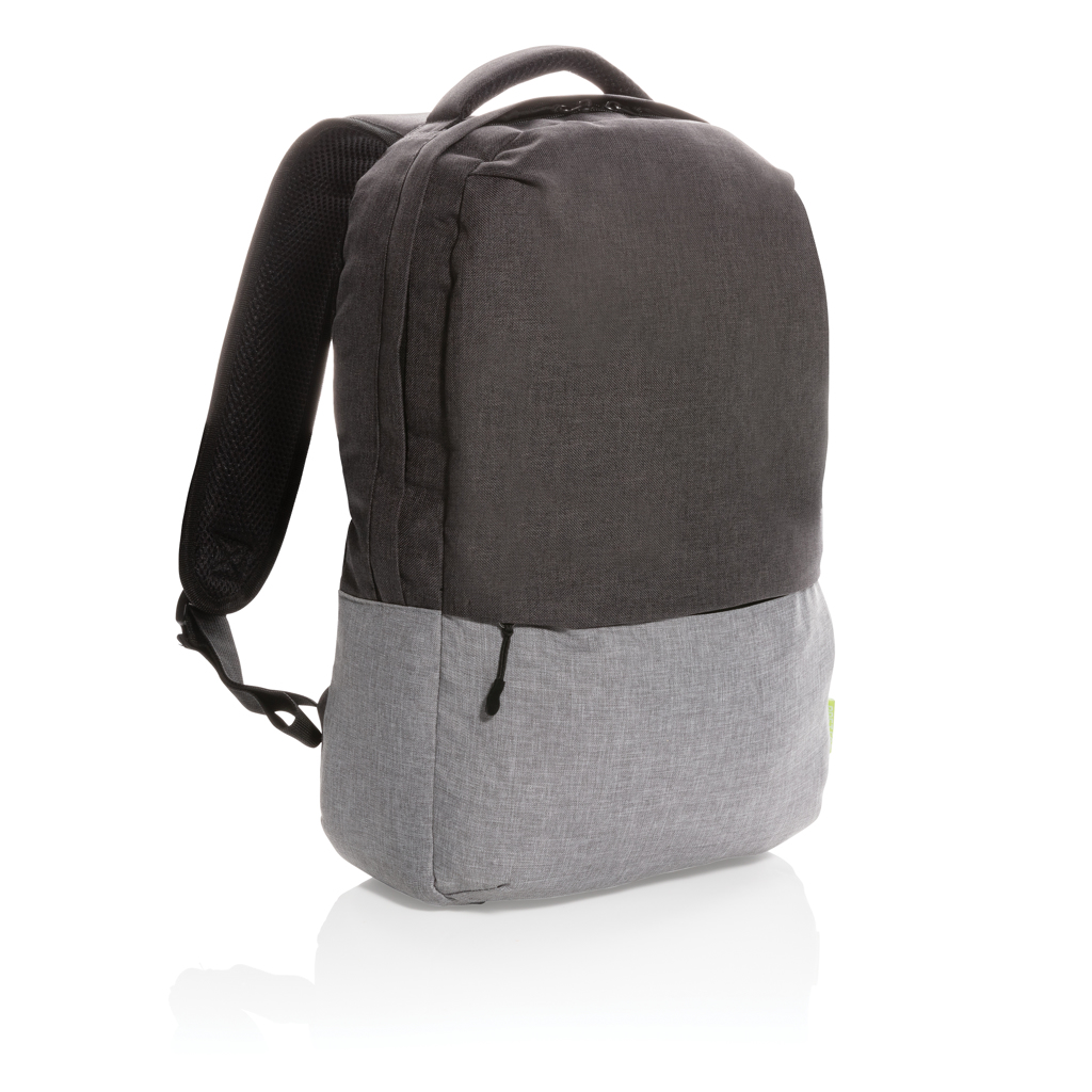"""Duo Color RPET 15.6"""" RFID Laptop-Rucksack, PVC-frei"""