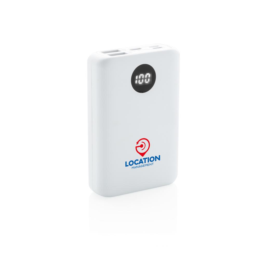 10.000 mAh Pocket Powerbank mit 3-fach Input