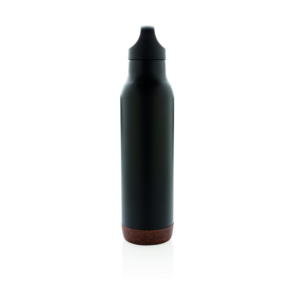 Auslaufsichere Vakuum-Flasche mit Kork