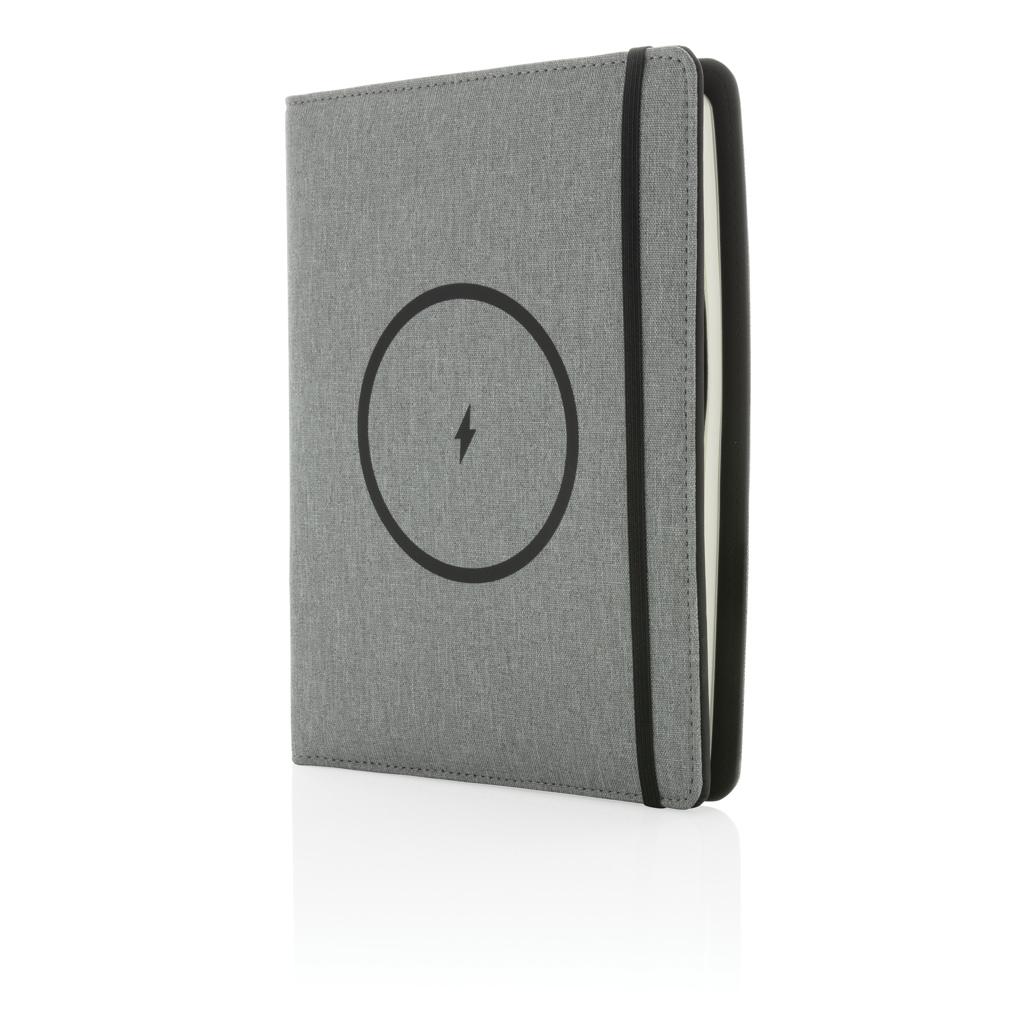 Air 5W Wireless Charging Notizbuch A5 mit 5000 mAh Powerbank