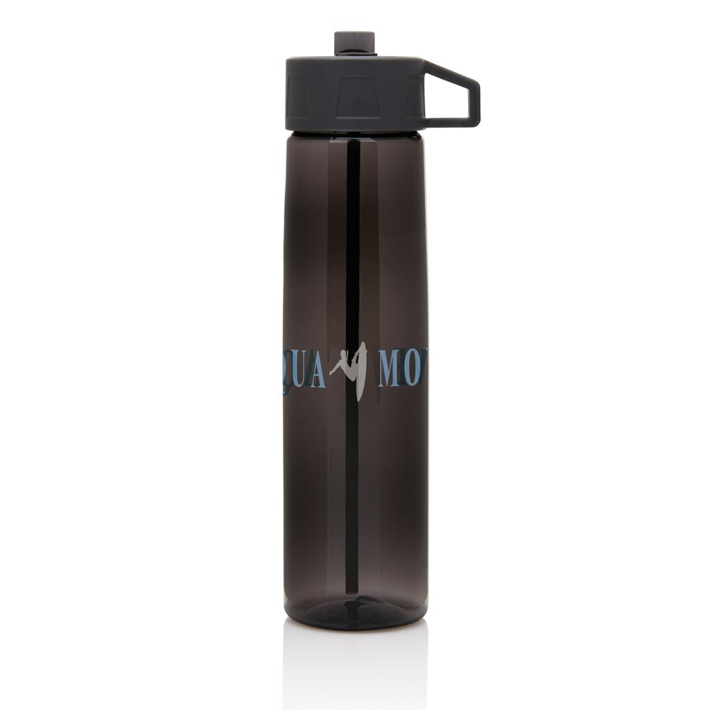 Tritan Trinkflasche mit Strohhalm