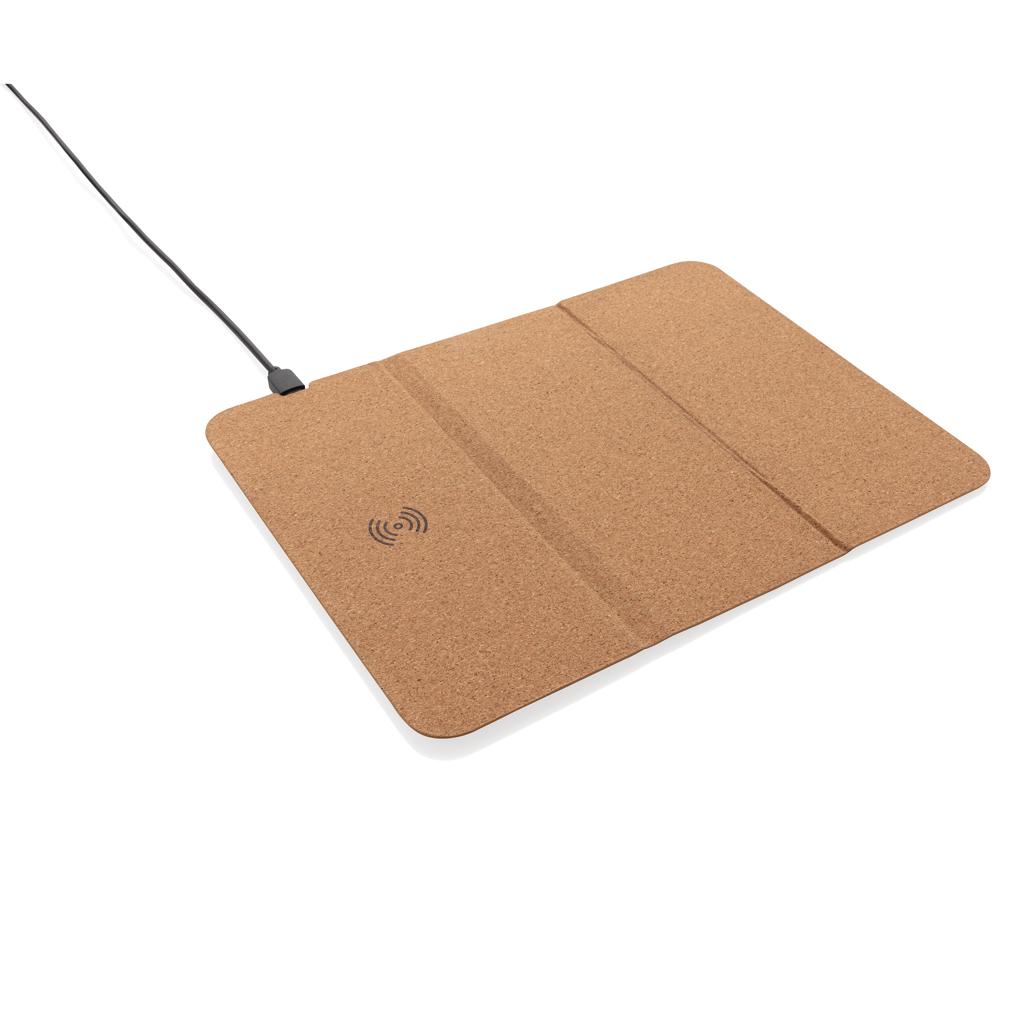 5W Wireless Charger Mauspad aus Kork