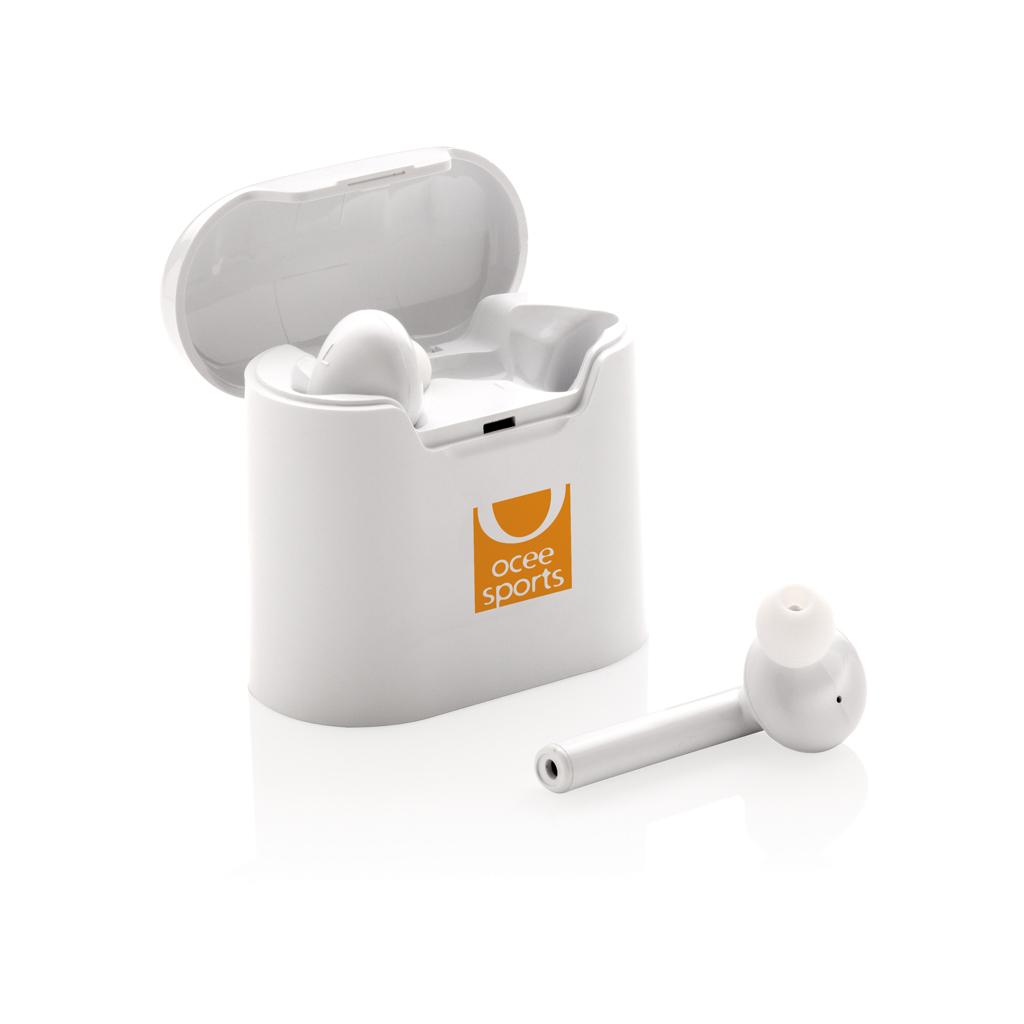 Liberty kabellose Kopfhörer in Ladebox