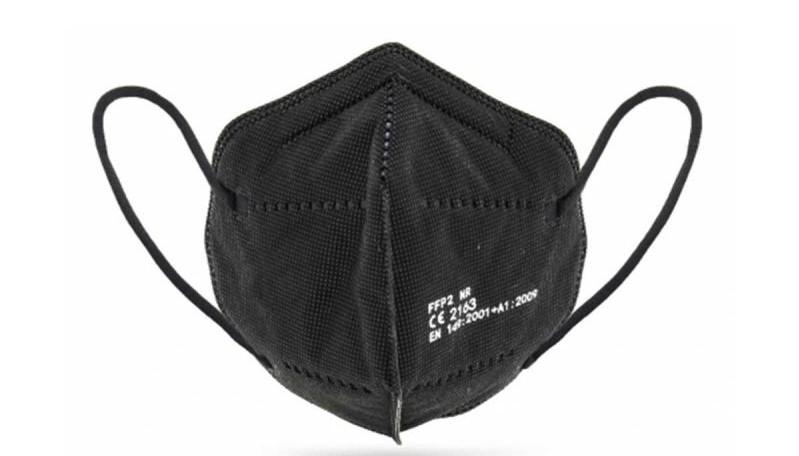 FFP2 Mund-Nasenschutzmaske schwarz