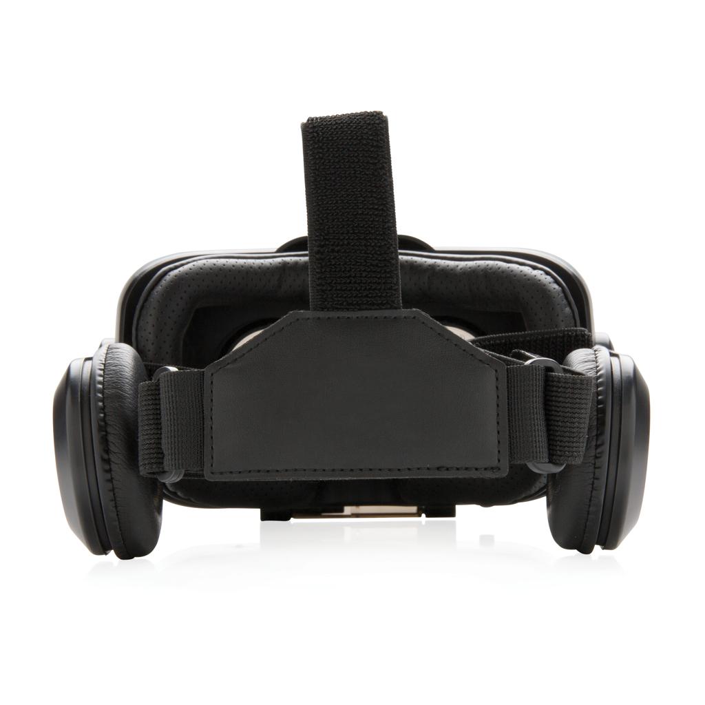 VR-Brille mit integriertem Kopfhörer