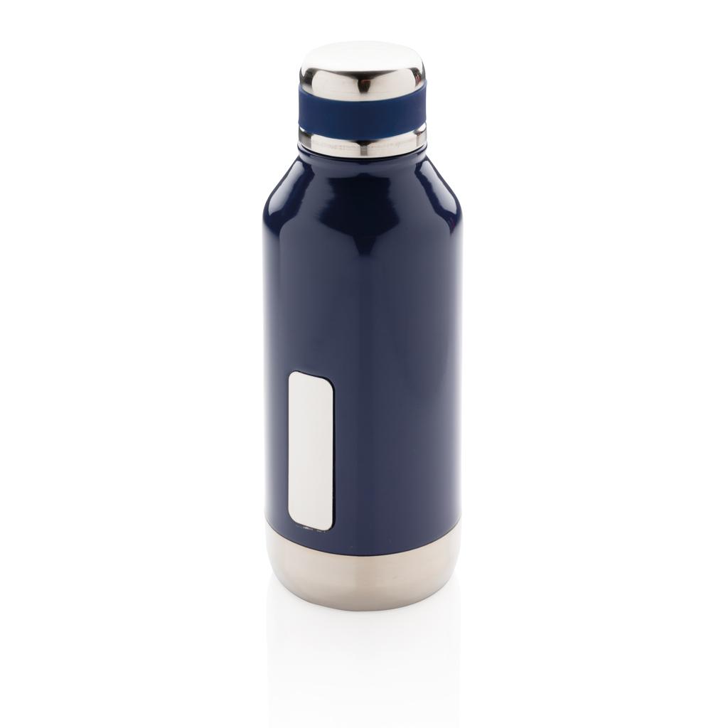Auslaufsichere Vakuumflasche mit Logoplatte