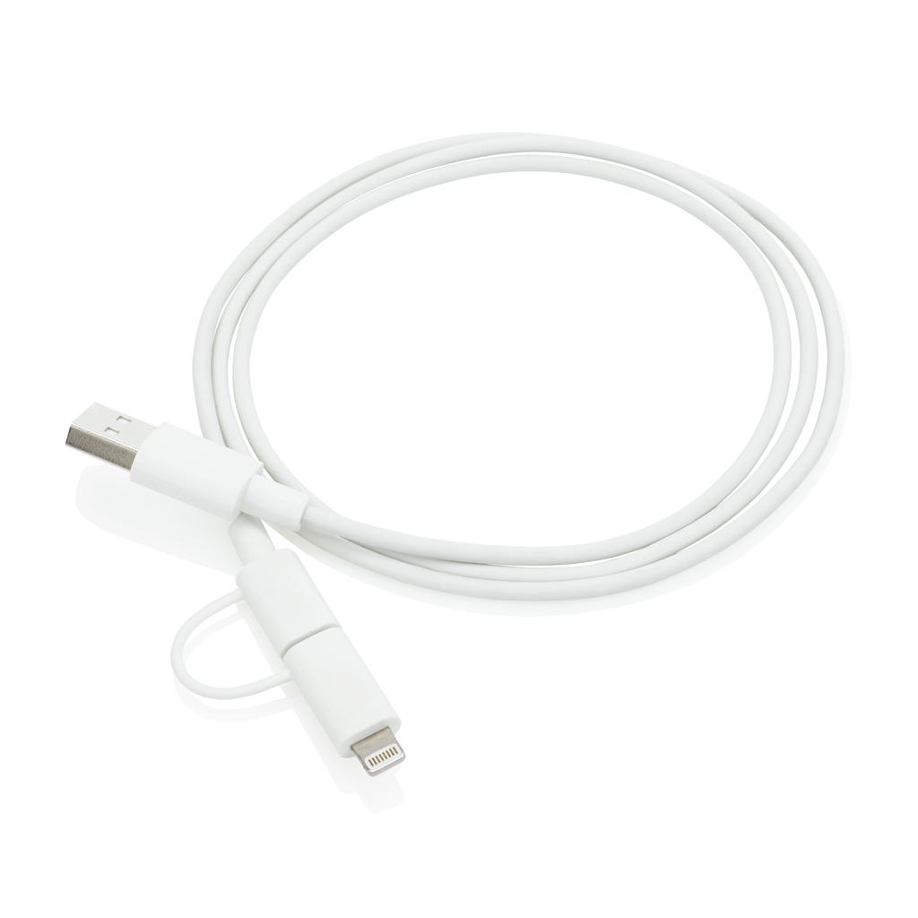 MFi lizensiertes 2-in-1 Kabel