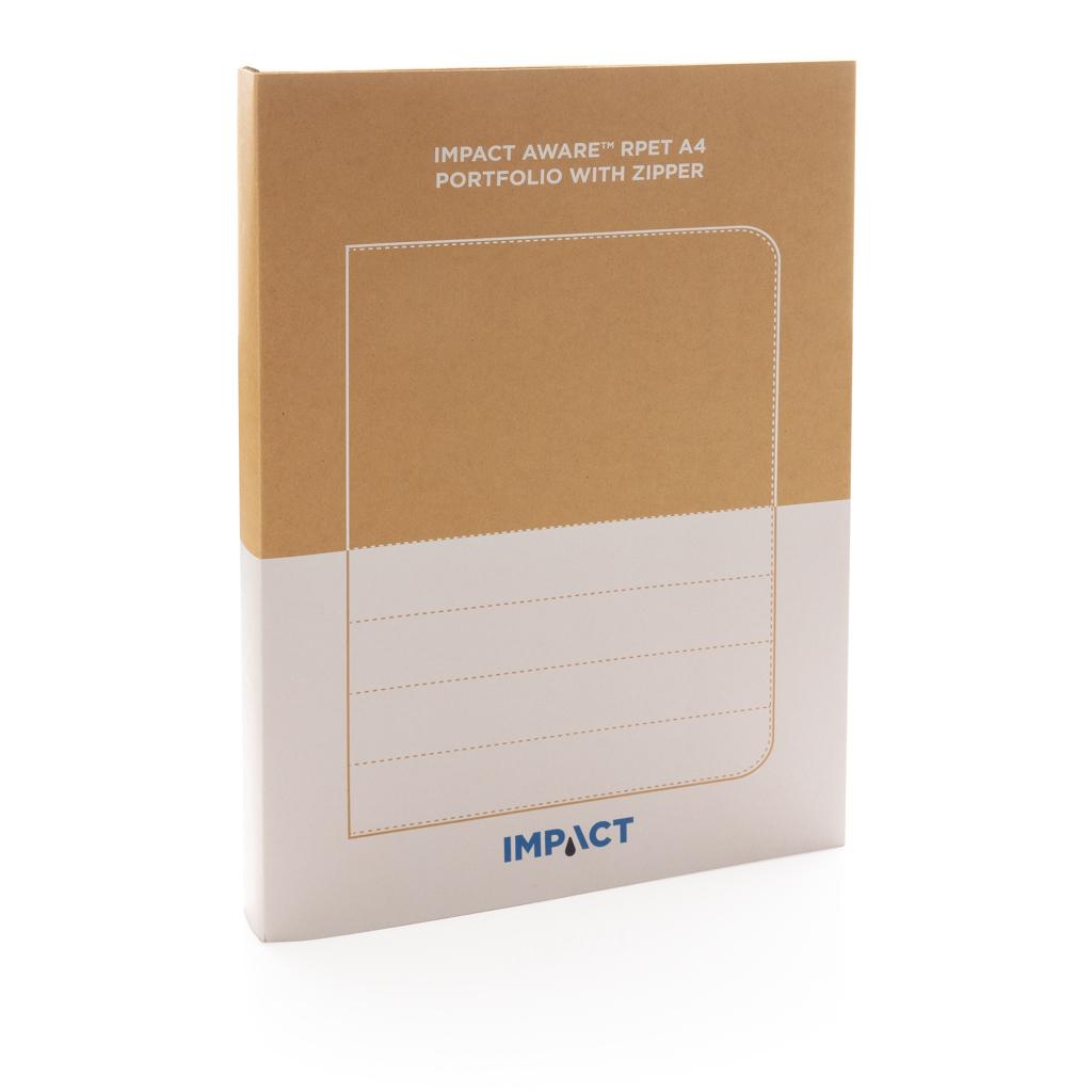 Impact AWARE™ RPET A4 Portfolio mit Reißverschluss
