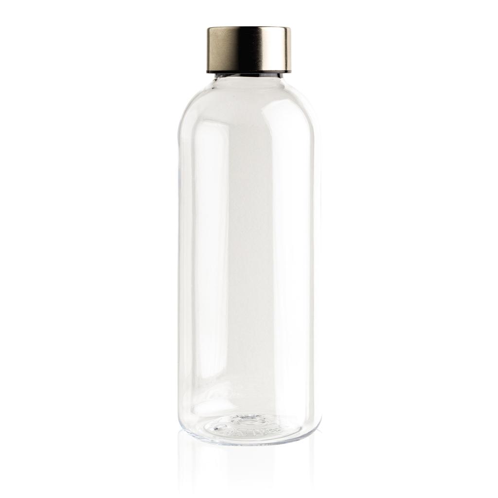 Auslaufsichere Trinkflasche mit Metalldeckel