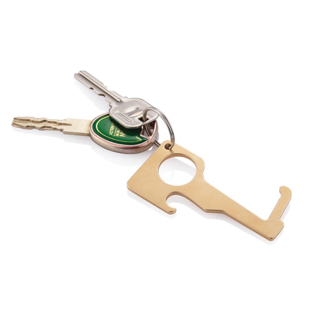 Zero-Contact Schlüsselanhänger aus Messing