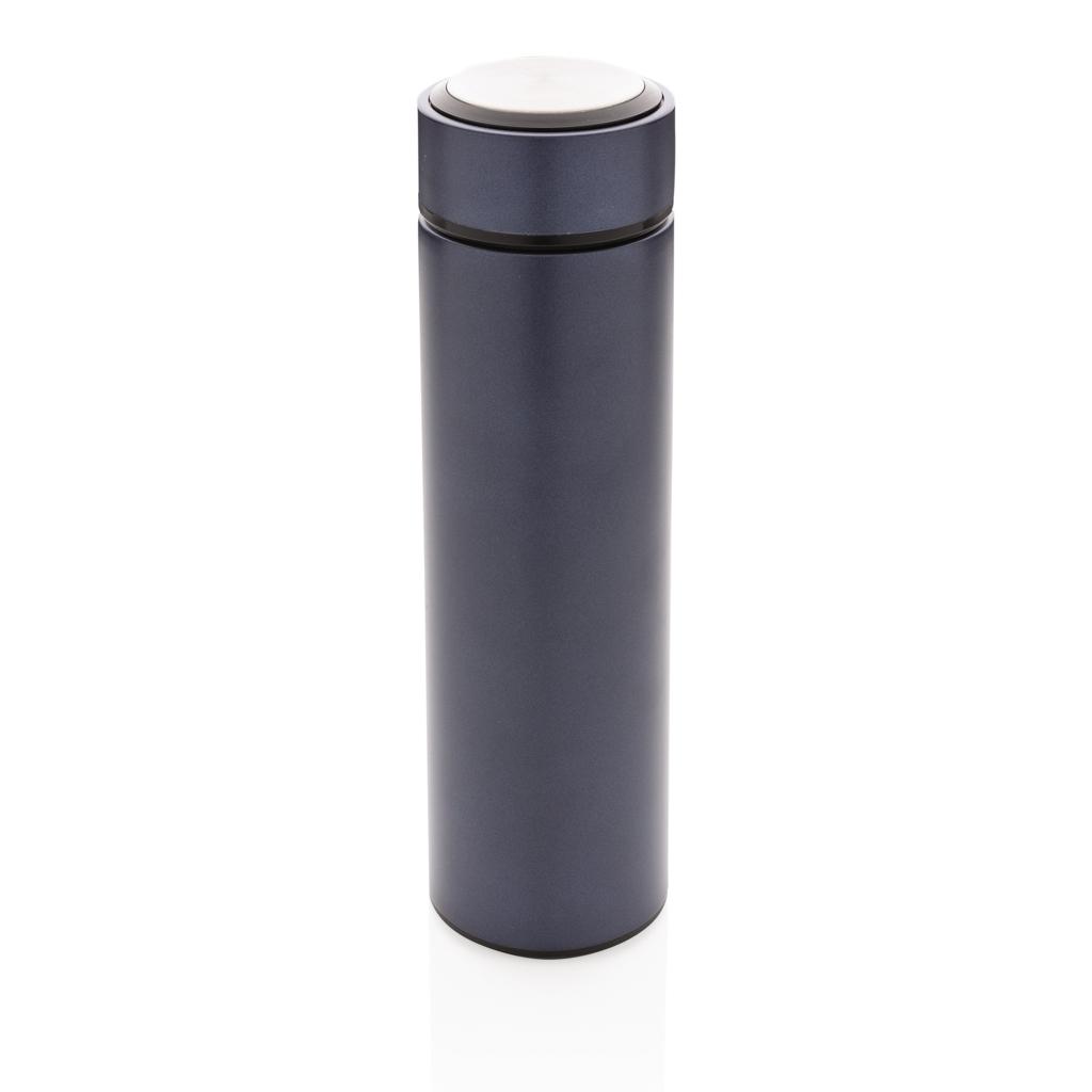 Vakuum Stainless Steel Flasche mit gebürstetem Metalldeckel