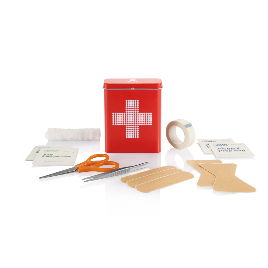 Erste Hilfe Metallbox