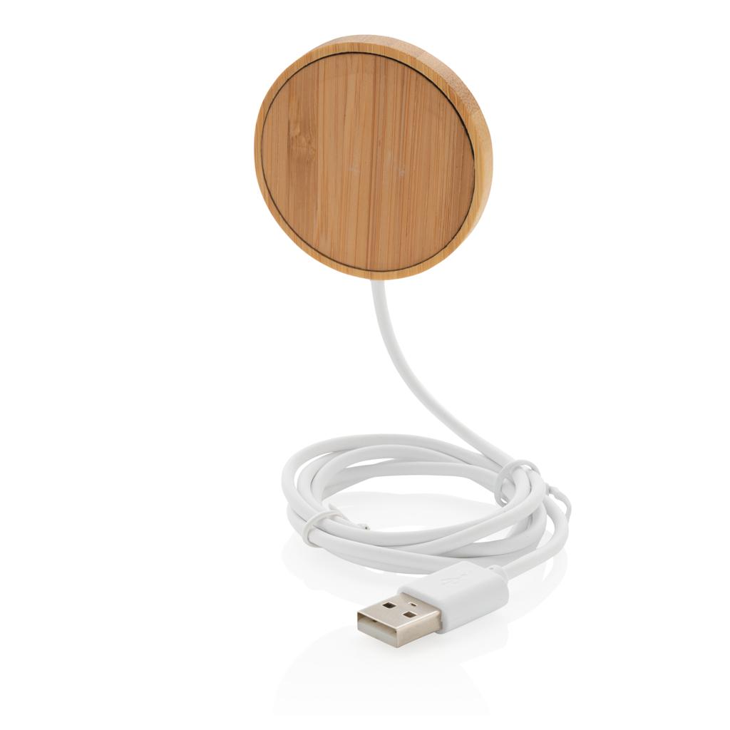 10W Bambus magnetischer Wireless Charger