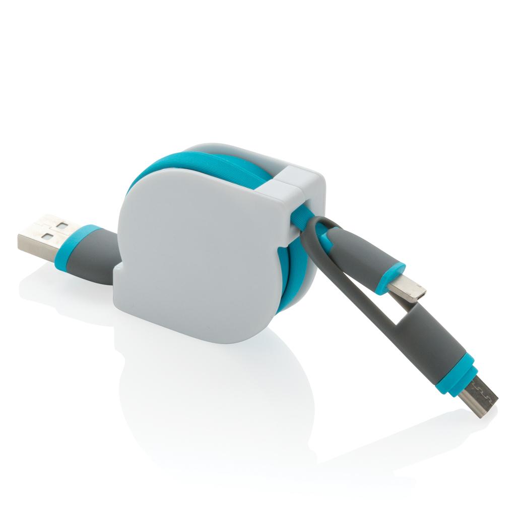 3-in-1 ausziehbares Kabel