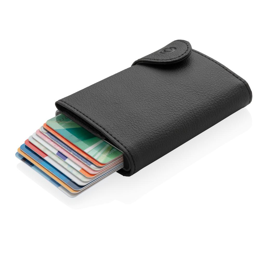 C-Secure XL RFID Kartenhalter mit Kleingeldfach