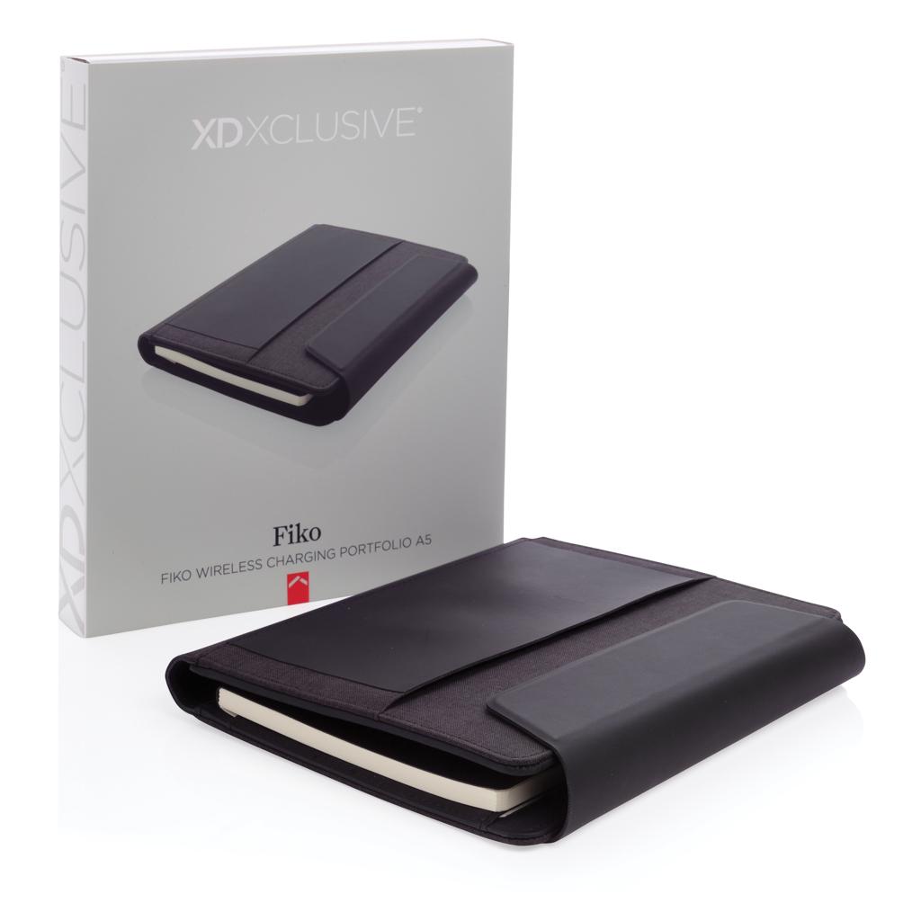 Fiko A5 Wireless Charging Portfolio mit Powerbank