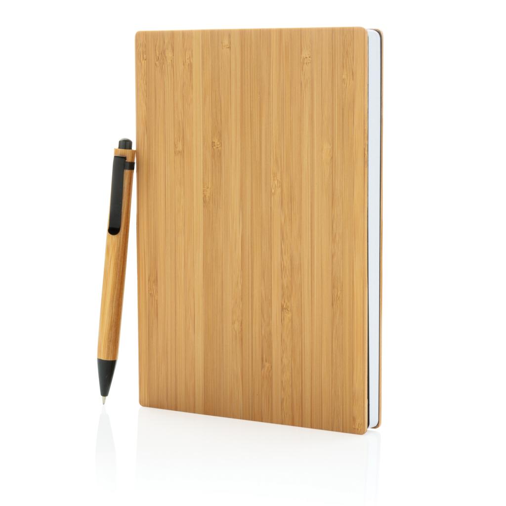 A5 Bambus Notizbuch & Stift