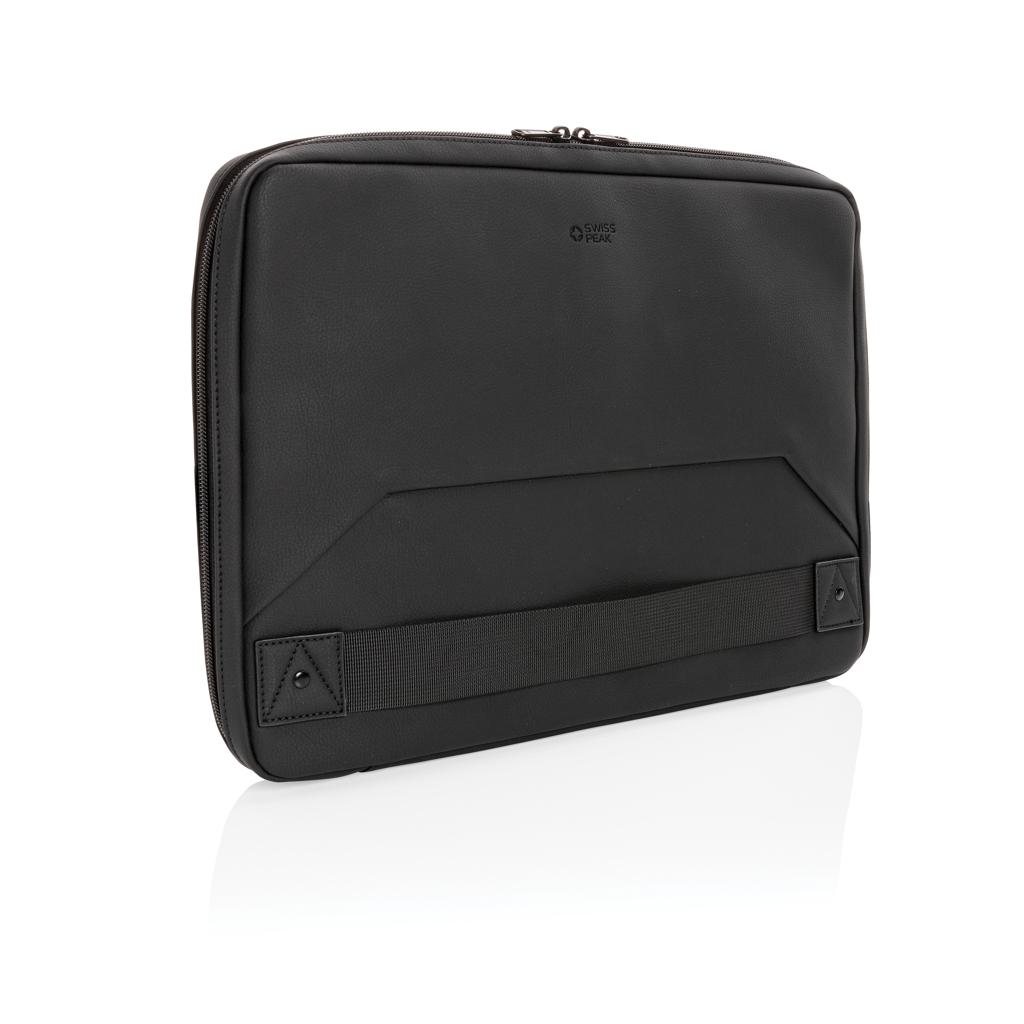 Swiss Peak Deluxe PU Laptop-Sleeve Workstation, PVC-frei
