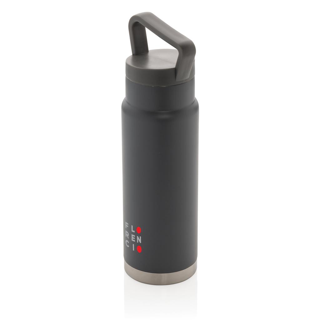 Auslaufsichere Vakuum-Flasche mit Tragegriff