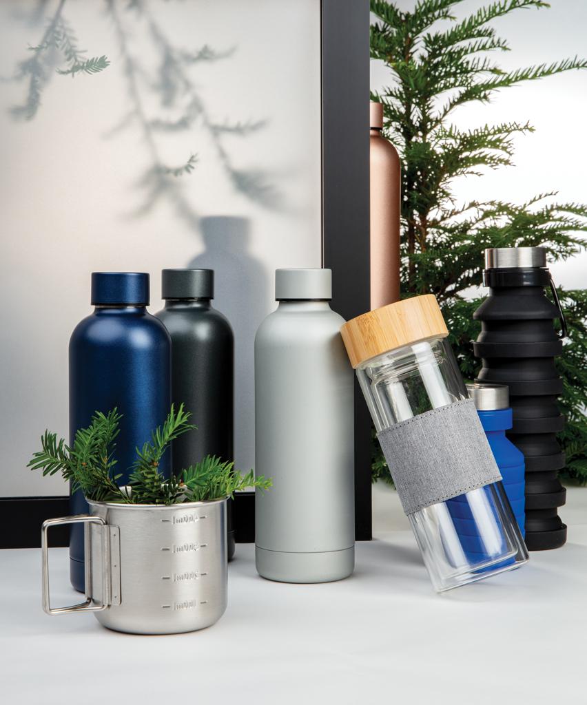 Impact doppelwandige Stainless Steel Vakuum-Flasche