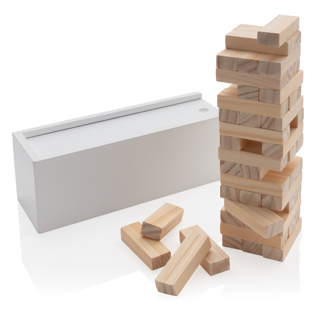 Deluxe Holz-Stapelturm