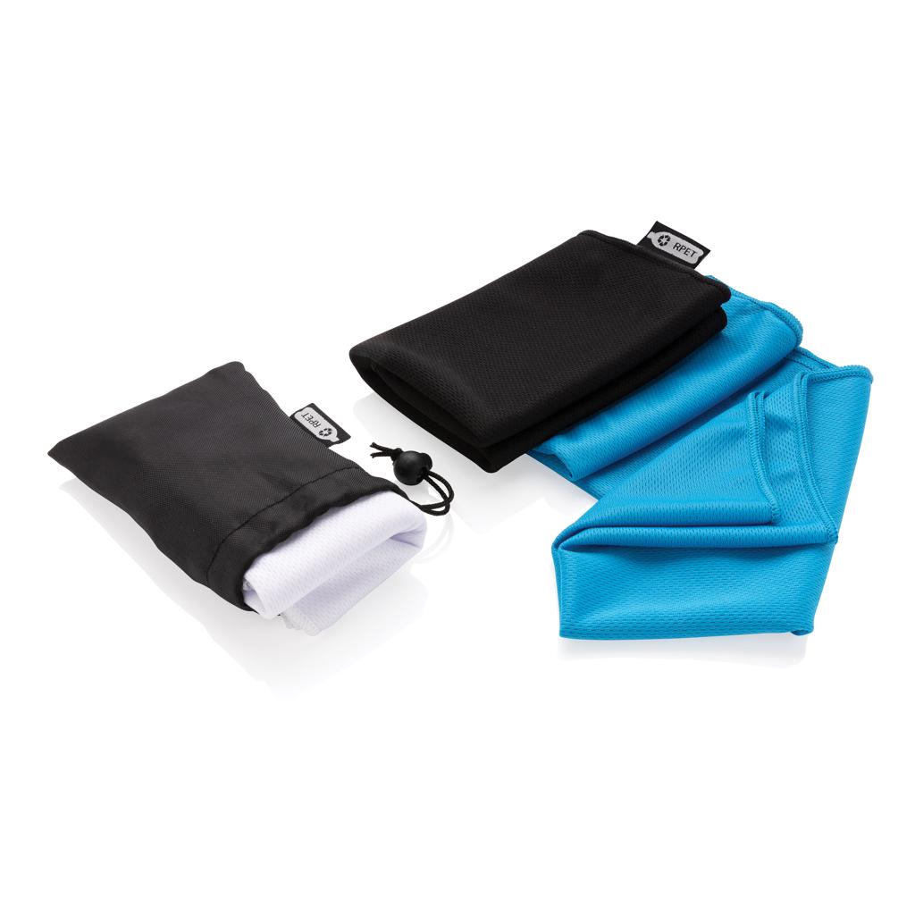RPET Sporthandtuch im Täschchen