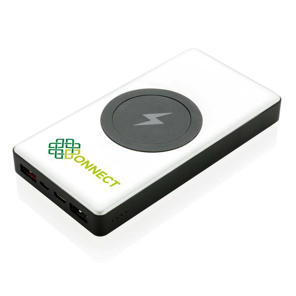 10.000 mAh Powerbank mit PD und wireless charging